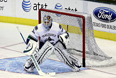 Airplane Paintings - Goalie Save 3 by Stephen Stookey