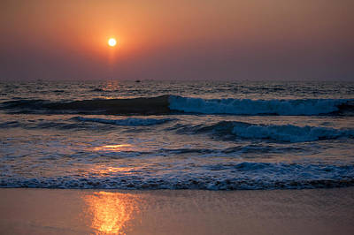 Photograph - Goan Sunset 1. India by Jenny Rainbow