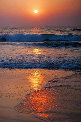 Photograph - Goan Sunset. India by Jenny Rainbow