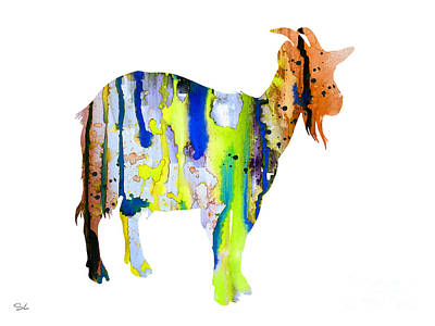 Goat 3 Art Print