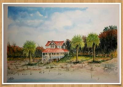 Goat Island South Carolina Sold Art Print