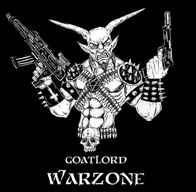 Goatlord Warzone Art Print by Alaric Barca