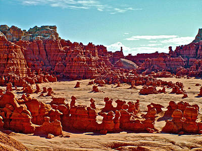 Goblin Convention In Valley Of The Goblins In Goblin Valley State Park-utah Original by Ruth Hager