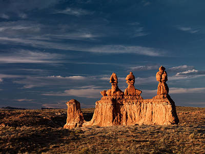 Goblin Valley Photograph - Goblin Valley 1 by Leland D Howard