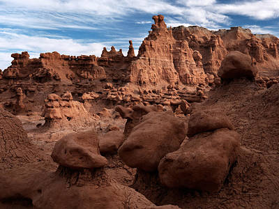 Goblin Valley Photograph - Goblin Valley 11 by Leland D Howard