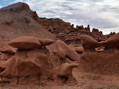 Goblin Valley Photograph - Goblin Valley 12 by Leland D Howard