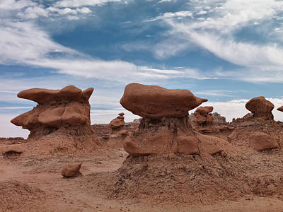 Goblin Valley Photograph - Goblin Valley 16 by Leland D Howard