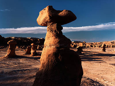 Photograph - Goblin Valley 5 by Leland D Howard