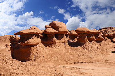 Photograph - Goblin Valley by Don and Bonnie Fink