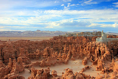 Surreal Landscape Photograph - Goblin Valley by Johnny Adolphson