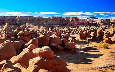 Photograph - Goblin Valley  by Robert Bales