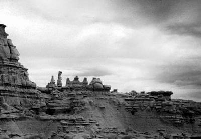 Art Print featuring the photograph Goblin Valley by Tarey Potter