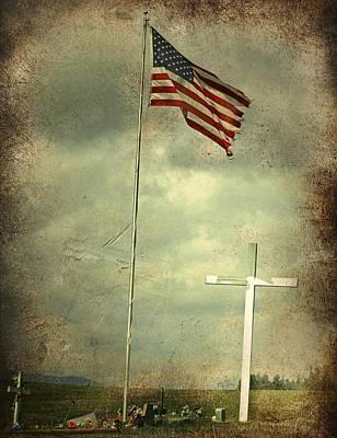 God And Country Art Print by Doug Fredericks