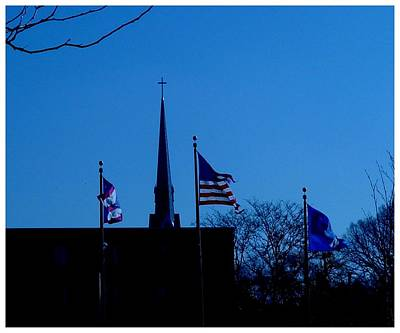 Photograph - God And Country by Frank Wickham