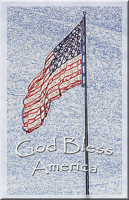Photograph - God Bless America by Debbie Portwood