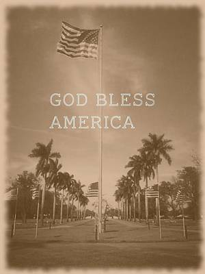 Photograph - God Bless America by Lee Farley