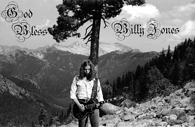 Photograph - God Bless Billy Jones by Ben Upham