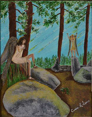 Painting - God Calls His Angels by Cassie Sears