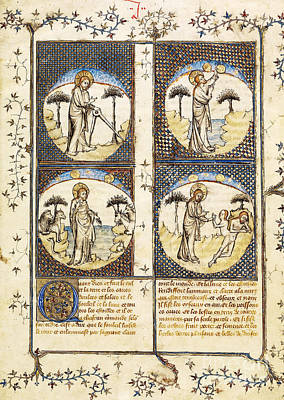 Photograph - God Creating World In Genesis by Getty Research Institute