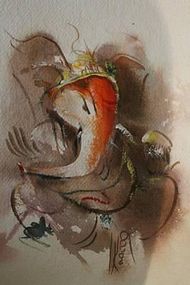 Etc. Painting - God Ganesha 86465 by Sir