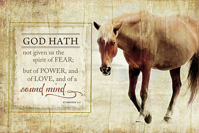 Inspirational Painting - God Hath by Jennifer Pugh