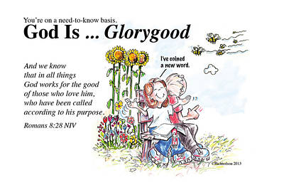 Painting - God Is Glorygood by George Richardson