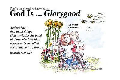 God Is Glorygood Art Print