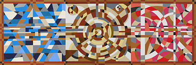 Painting - God Is In The Geometry by Paul Moss