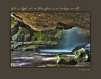 Photograph - God Is Light by Carol Erikson