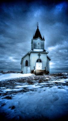 North Dakota Wall Art - Photograph - God It's Cold by Kevin Bone