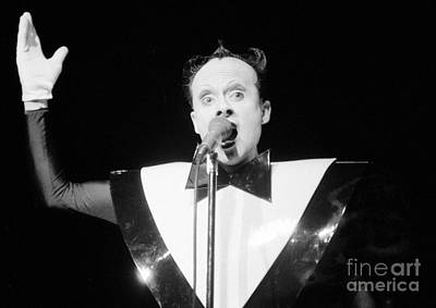 God Klaus Nomi Art Print