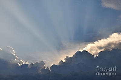 Photograph - God Rays by Cheryl McClure
