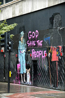 Photograph - God Save The People by RicardMN Photography
