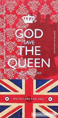 God Save The Queen Original by Shani Goss