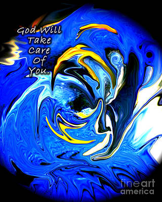 Photograph - God Will Take Care by Linda Cox