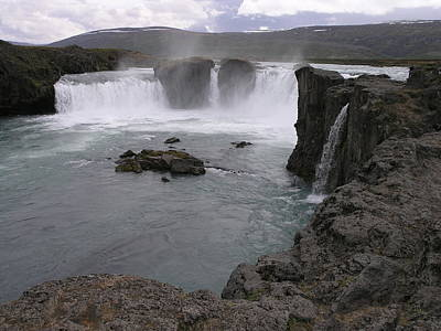 Photograph - Godafoss by Christian Zesewitz