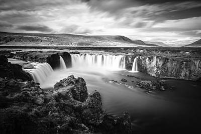Photograph - Godafoss Waterfall by Alexey Stiop