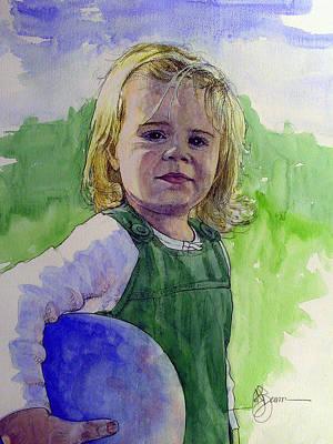 Painting - Godchild by John D Benson