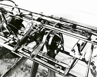 Goddard Rocket Gyroscope Art Print