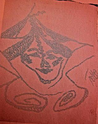 Archetype Painting - Goddess Archetype Of Change by Tetka Rhu