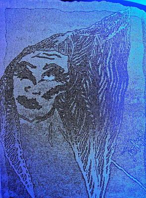 Archetype Painting - Goddess Archetype Of The Atomic Principle by Tetka Rhu