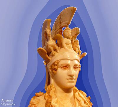 Photograph - Goddess Athena by Augusta Stylianou