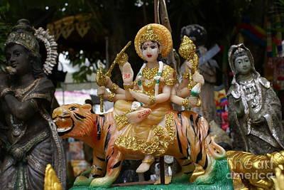 Parvati Photograph - Goddess Durga by Gregory Smith
