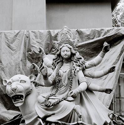 Goddess Durga Photograph - Goddess Durga by Shaun Higson