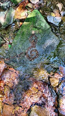 Pentagram Art Photograph - Goddess From The Earth Itself by Art Dingo