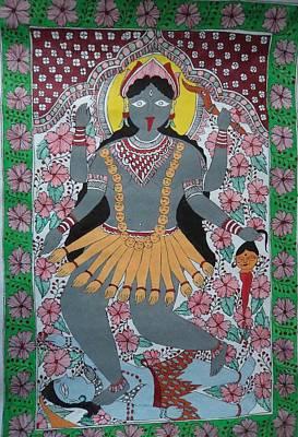 Goddess Kali Original by Kamini Kumari