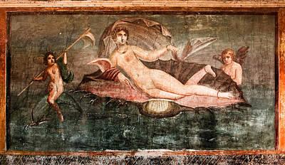 Photograph - goddess of love - Pompeii by Weston Westmoreland