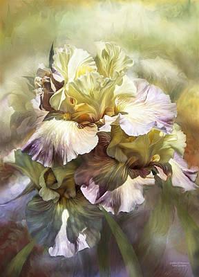 Mixed Media - Goddess Of Memories by Carol Cavalaris