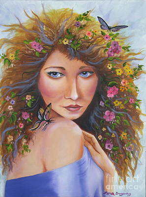 Painting - Spring Beauty by Lora Duguay