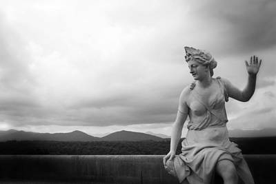 North Carolina Photograph - Goddess Of The Mountains by Ben Shields